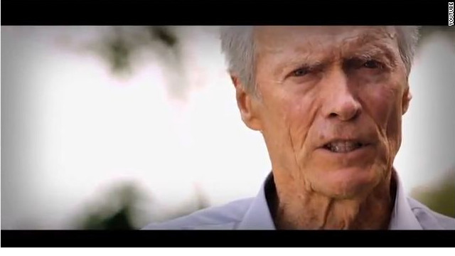 Clint Eastwood returns, stars in new super PAC ad