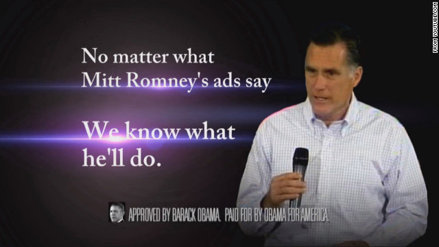 Unannounced Obama ad continues abortion criticism of Romney