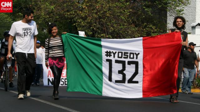 """#YoSoy132, de la """"calle"""" a los micrófonos de Televisa"""