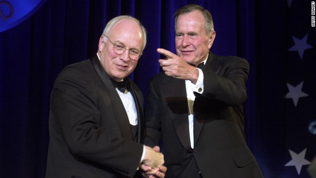 Former Vice President Cheney, Former President George HW Bush to headline Romney fund-raisers