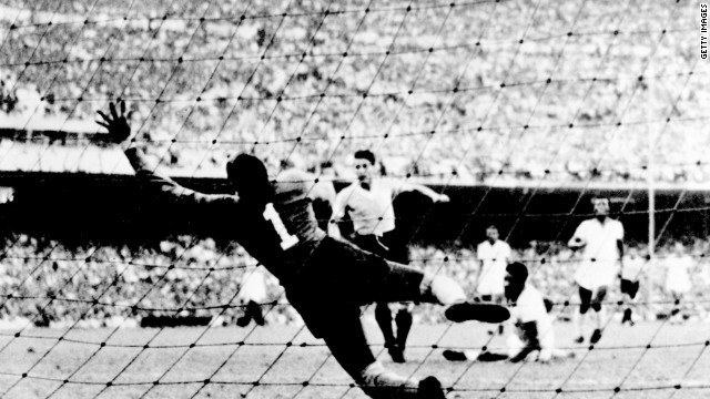 Brazil hosted the football World Cup for the first time in 1950, with an expectant home crowd demanding the team claim the title. Everything looked to be going to plan, with a freescoring Brazil team needing just a draw against Uruguay to seal a first World Cup triumph. Despite taking the lead, Brazil ended up losing 2-1 lead -- and a country was devastated. Since then &quot;A Selecao&quot; have won the World Cup five times, more than any other nation.