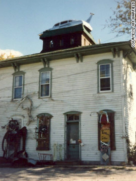 """With its twisted passageways, secret tunnels and reported sightings of a """"Lady in White,"""" the eerie 19th-century house draws visitors all year long."""