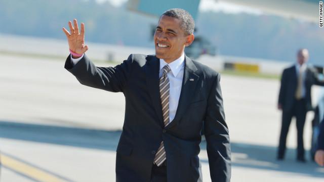 Obama makes media push