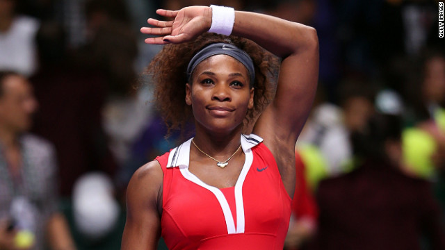 Serena Williams has won three straight matches at the season-ending WTA Championships in Istanbul