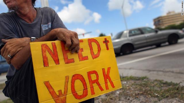 La tasa de desempleo en EE.UU. subió al 7,9% en octubre