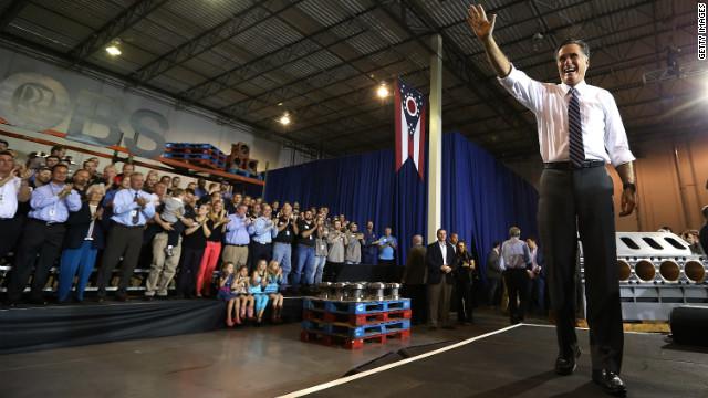 Romney offers 'big change'