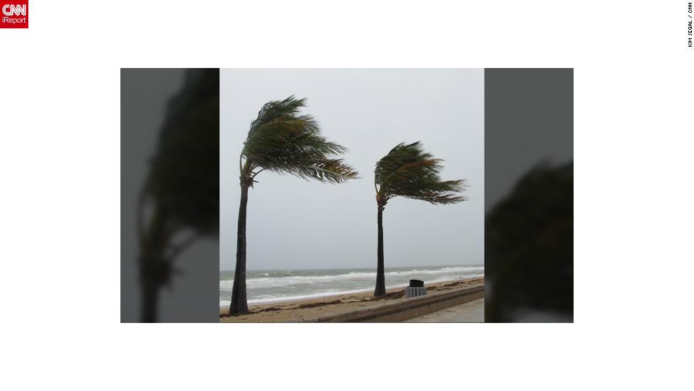 iReporteros captan los efectos del huracán Sandy
