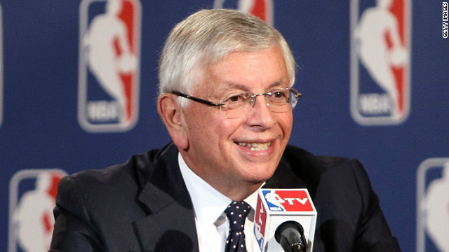 NBA Commissioner David Stern stepping down