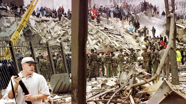 Mathiu says there was an outpouring of sympathy for America when al Qaeda bombed the U.S. embassy in Nairobi in 1998