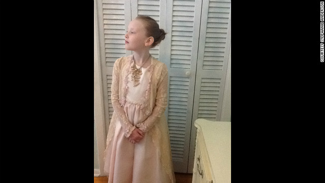Stella as Princess Grace.