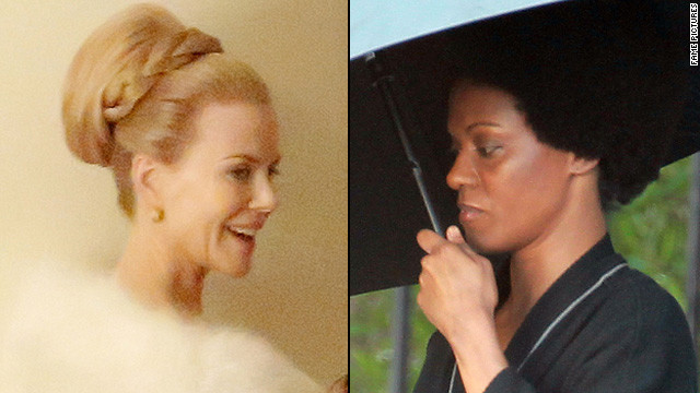 See Kidman as Grace Kelly, Saldana as Nina Simone