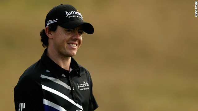 Rory McIlroy had plenty of reasons to smile after carding a second-round 65 on Friday.
