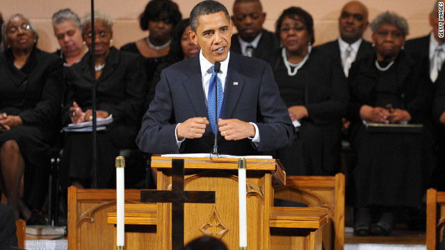 In Obama's first term, an evolving Christian faith and a more evangelical style