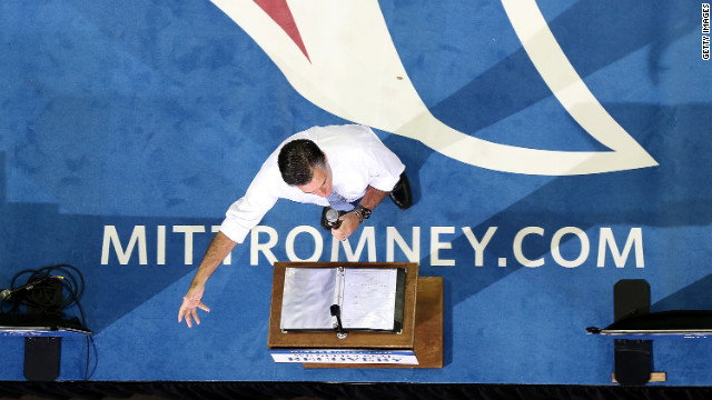 Romney cancels Virginia events due to storm