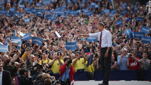 Obama makes push for New Hampshire&#039;s four electoral votes
