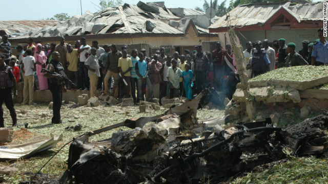 Suicide bombing at Nigerian church