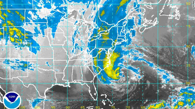 It's watch and wait as Hurricane Sandy approaches