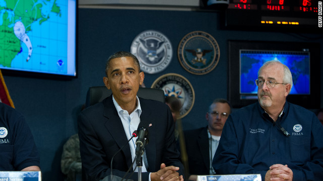 Obama advises preparedness ahead of storm