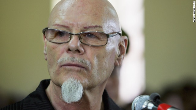 Gary Glitter is shown in 2006 in Vietnam, where he was convicted of sex offenses against young girls and jailed.
