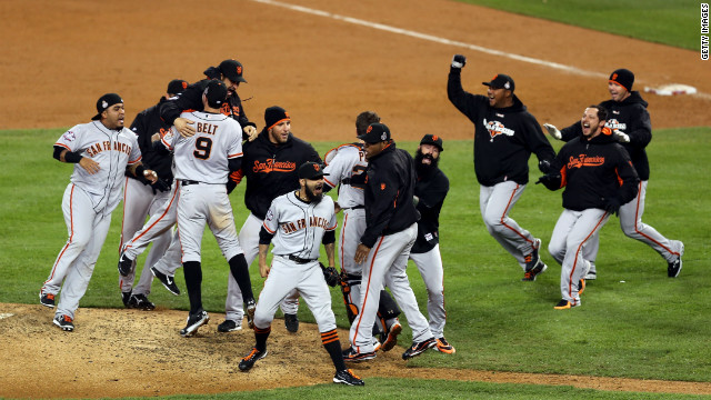 Giants win the World Series
