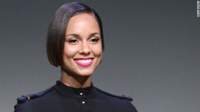 Alicia Keys on the role she's been eyeing, new app