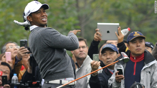 """On the tee boxes there were so many camera clicks it sounded like machine gun fire,"" Shipnuck wrote."