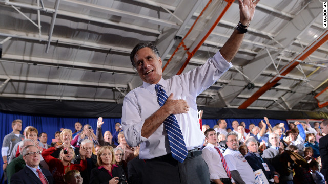 Romney cancels Monday evening and Tuesday campaign events
