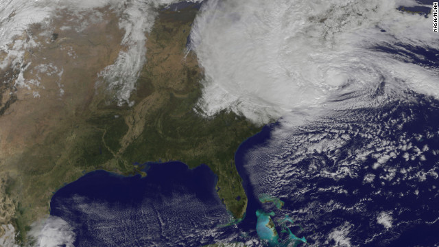 How Sandy could break records
