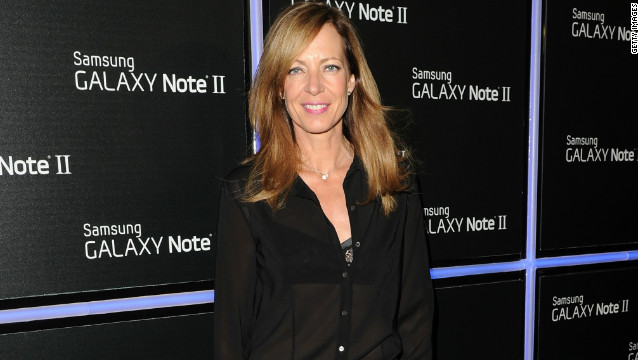 Allison Janney attends the Samsung Galaxy Note II Beverly Hills launch party on October 25, 2012, in Los Angeles, California.