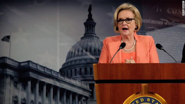 McCaskill's mother dies