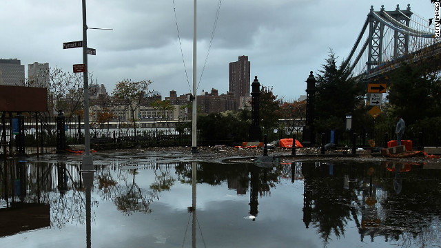 Sandy's flooding: 5 things you need to know