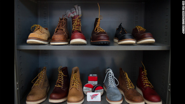 Iconic American bootmaker Red Wing offered boots from its American-made <a href='http://www.redwingheritage.com/' target='_blank'>Heritage line</a>, which started in response to demand from Japanese markets. Interest from customers in the United States has grown in the past five to seven years, spokesman Michael Williams said.