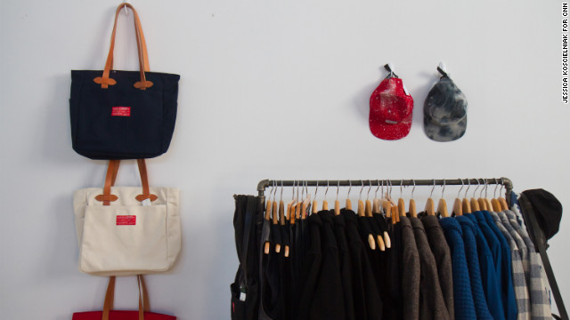 <a href='http://www.shoppenelopes.com/' target='_blank'>Penelope's</a> pop-up boutique displays a variety of American-made brands at NorthernGRADE. The Chicago retail store recently expanded its offerings of American-made products based on customer demand.