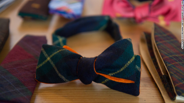 All of <a href='http://pierreponthicks.com/' target='_blank'>Pierrepont Hicks</a>' colorful ties and bowties are made in New York. The husband-wife team behind Pierrepont Hicks started NorthernGRADE in 2010 with iconic leather accessory brand <a href='http://www.jwhulmeco.com/' target='_blank'>J.W. Hulme</a>.
