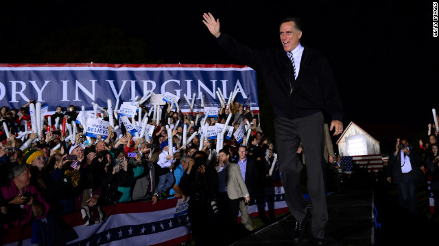 Romney set to return to Virginia Thursday