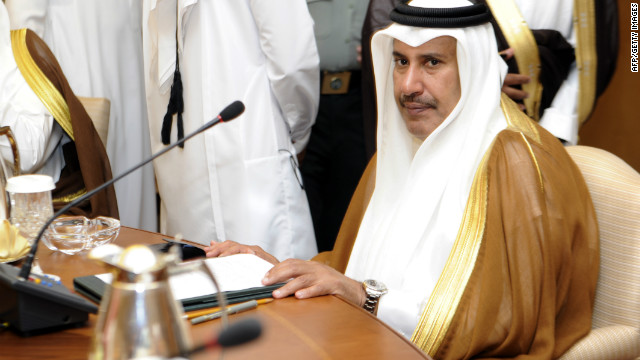 Qatar's Prime Minister described the situation in Syria as genocide Tuesday, according to state media.