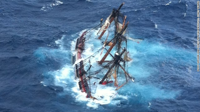 Sinking of the HMS Bounty