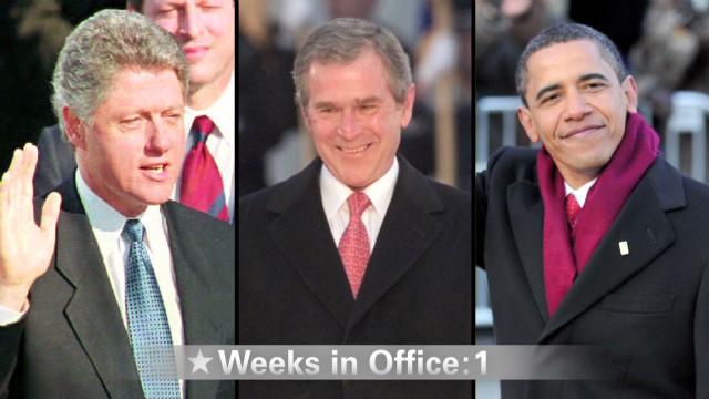 Del negro al blanco, ¿qué provoca el encanecimiento en los presidentes?