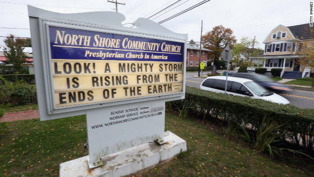 Online conversations around Sandy feature God, prayer and atheism