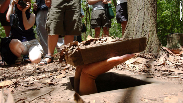 For a frightening taste of extremely tight spaces, visit the historic Viet Cong tunnels at Cu Chi.