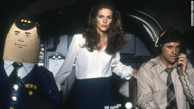 &quot;Airplane!&quot; turns the disaster drama inside-out, playing it as an over-the-top comedy, complete with blow-up dolls.