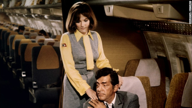 &quot;Airport&quot; (1970) includes several high-in-the-sky disasters, including a blizzard and a suicide bomber.