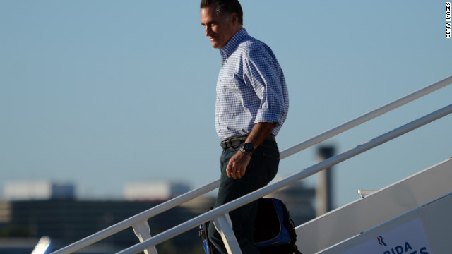 In Sandy's aftermath, Romney to strike a positive tone