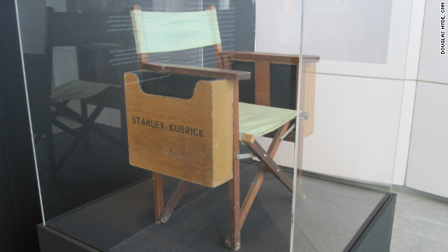 An intensely private man and a meticulous and versatile director, Stanley Kubrick only made around a dozen feature films, but most are regarded as classics. He made one from this very chair. Note the boxes on either side used to hold scripts and notes.