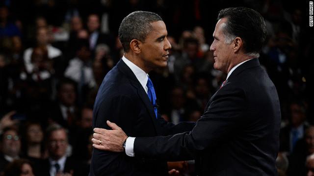 Obama y Romney, empatados en Colorado, según encuesta de CNN