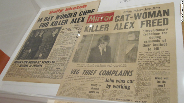 Kubrick insisted on attention to detail, as these realistic prop newspapers from &quot;A Clockwork Orange&quot; illustrate.