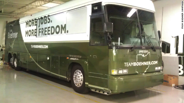 Boehner to kick off get-out-the-vote bus tour in Ohio this weekend