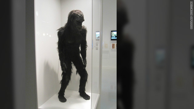 The costume for &quot;Moonwatcher,&quot; the ape from &quot;the dawn of man&quot; who threw that famous bone toward the heavens in Kubrick's sci-fi film, &quot;2001: A Space Odyssey.&quot; 