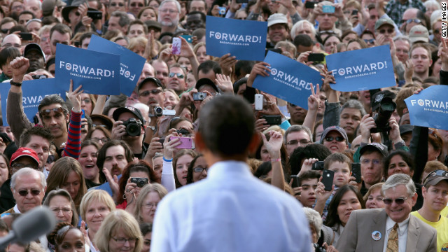 Team Obama sets schedule for final weekend of race