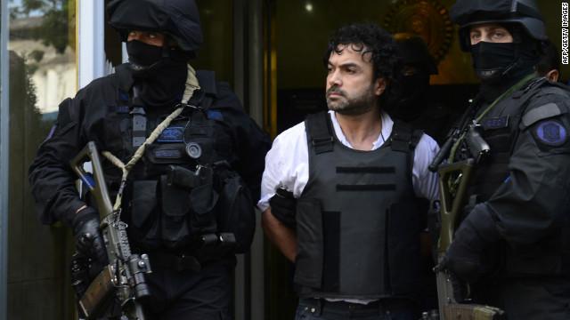 """El presunto mayor proveedor de cocaína de """"Los Zetas"""" es detenido en Argentina"""